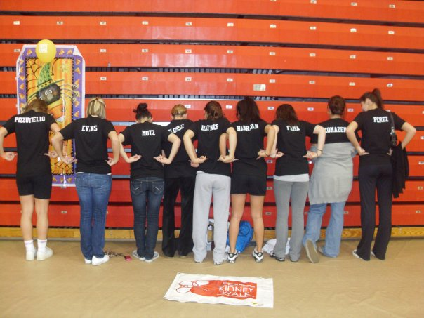 Team at the Kidney Walk '09-'10